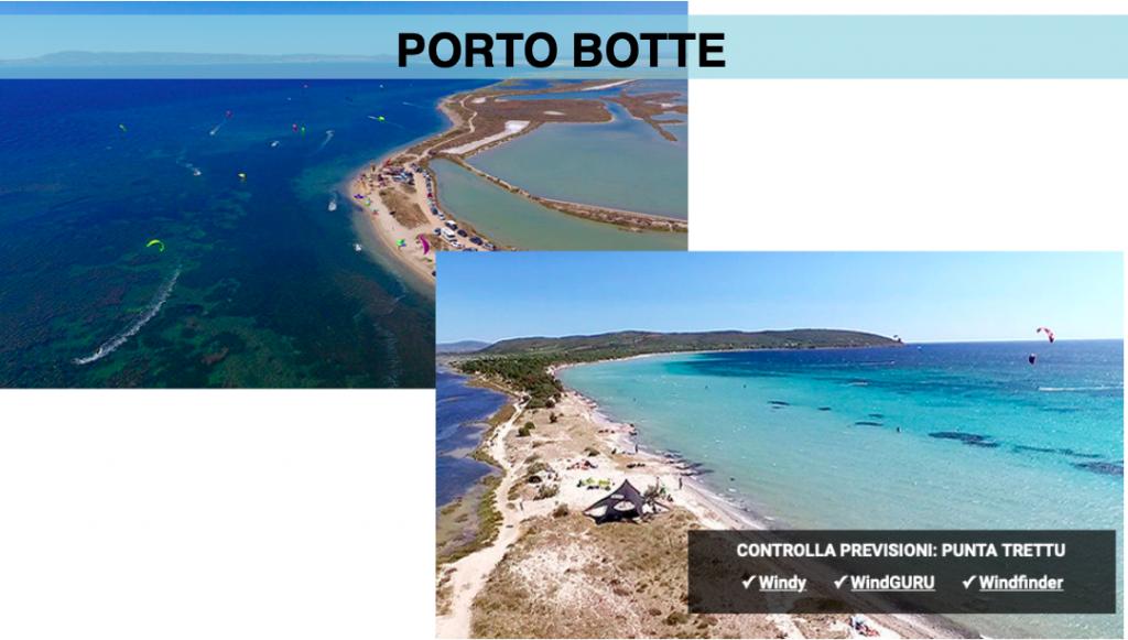 kite camp Sardegna Porto Botte