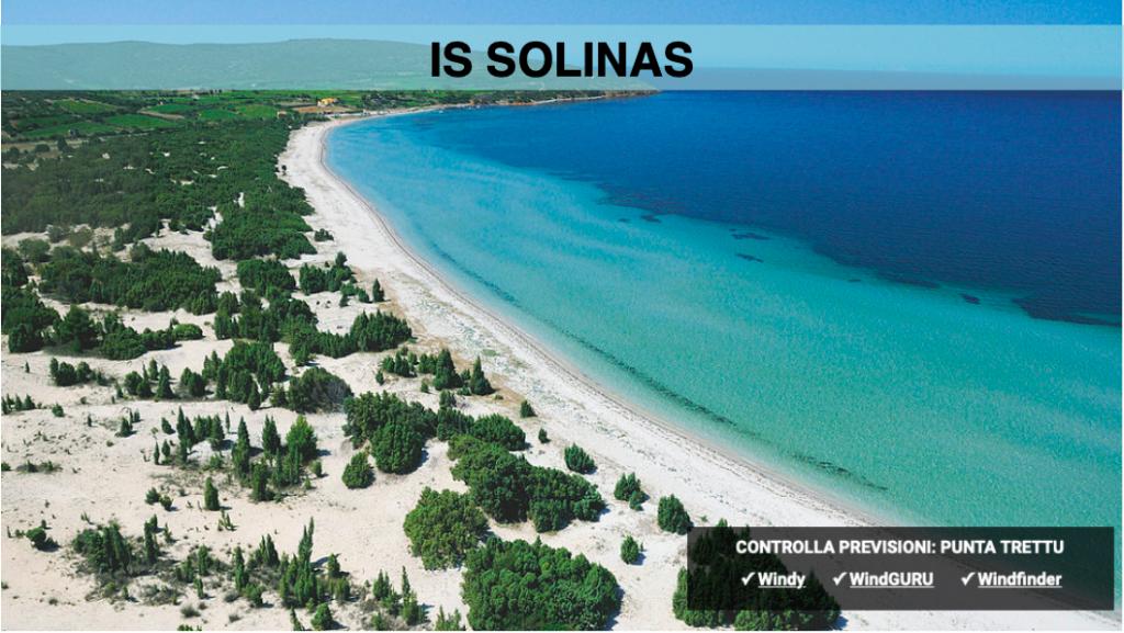 kitesurf sardina Is Solinas